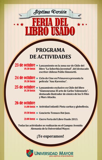 Programación Feria del Libro 2013