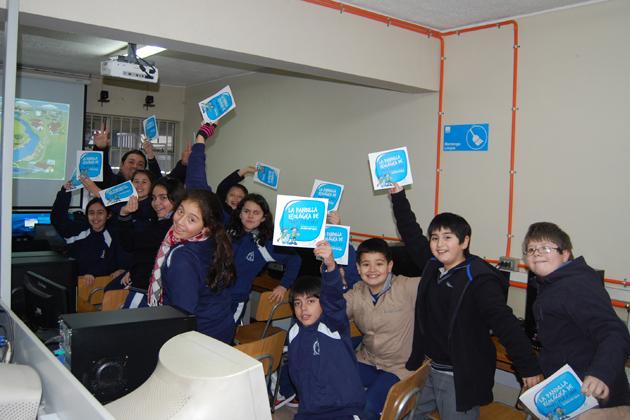 Charla Ciclo del Agua en Colegio Metodista 10