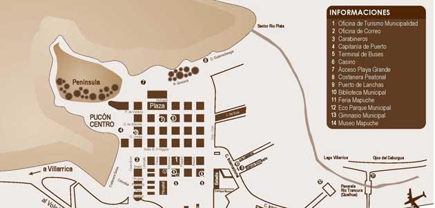 mapa corrida nocturna