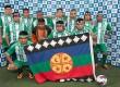 """Futbolistas mapuche participan del """"partido de fútbol más largo del mundo"""""""