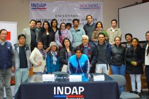 Jóvenes emprendedores agrícolas tuvieron su encuentro en Temuco