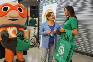 Campaña Yo uso mi Ecobolsa Municipalidad de Temuco