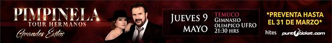 Pimpinela en Vivo - Jueves 9 de Mayo Temuco