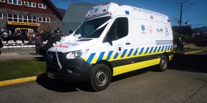 ambulancia melipeuco